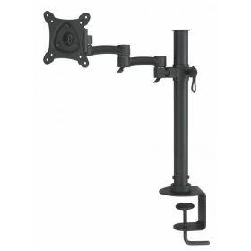 Наклонно-поворотный настольный кронштейн Logan LCD-T01 black для монитора