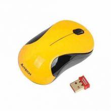 Мышь беспроводная A4Tech G7-320N-1 (Yellow)