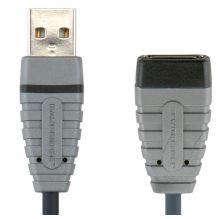 USB 2,0 Bandridge BCL4305  4,5м AM-АF 5,0 м