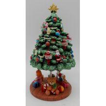 """Музыкальный сувенир """"Рождественская елка"""" (вращение, музыка) 20*11 см."""