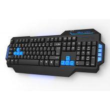 Клавиатура E-BLUE Mazer-type X, USB, игровая, с подсветкой. 8 мультимедиа клавиш. (1/10)