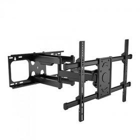Наклонно-поворотный настенный кронштейн ASPECT PILOT-10 black (600x400)