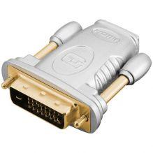 Переходник HDMI - DVI-D M-F HQSSVC003 blister