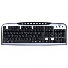 Клавиатура проводная CBR KB-300M, 107+9 доп. кл.,