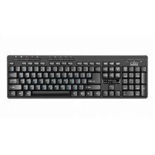 Клавиатура проводная CBR KB-310M, 107+10 доп. кл.,