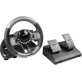 Игровой руль для компьютера Defender Forsage GTR