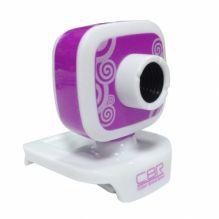 WEB камера CBR CW-835M Purple, универс. крепление
